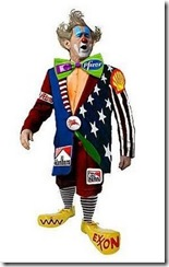 bush-clown